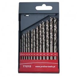 Set burghie metal HSS 135grade in caseta 2.0-8.0mm - 13piese PROLINE, 5903755772145