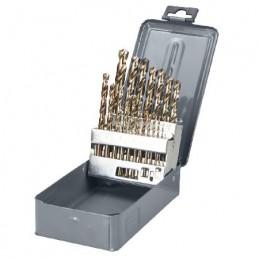 Set burghie metal HSS-CO 135grade in cutie 1-13mm - 25piese PROLINE, 5903755782250