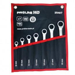 Set chei combinate cu clichet CR-VA HD 8-19mm - 7piese PROLINE.HD