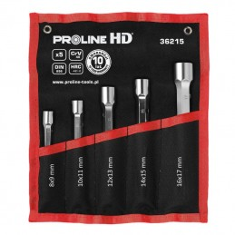 Set chei cu tubulare CR-VA HD 8-17mm - 5piese PROLINE.HD