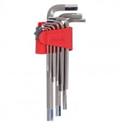 Set chei negative Cr-V S2 lungi 1.5-10mm - 9piese PROLINE