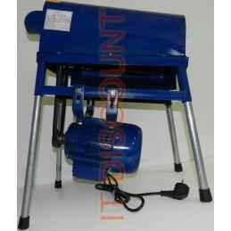 Masina de curatat porumb desfacat boabe batoza electrica Micul Fermier 0.75kW