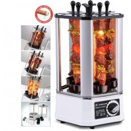 Grill pentru frigarui 1400W Rotisor electric Harlem