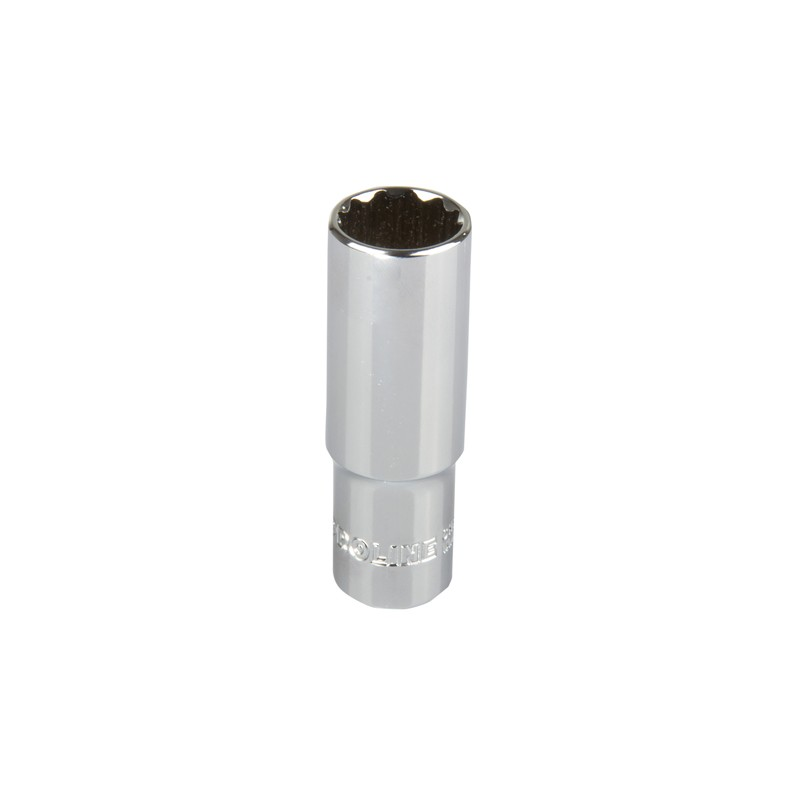 Cheie tubulara adanca dublu-hexagonala 1/2'' 18mm