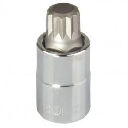 Cheie tubulara cu varf canelat 1/2'' / 55mm - M12