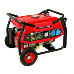 Generator electric pe benzina mobil - 12/230/230v / 2KW