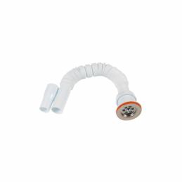 Sifon flexibil lung cu ventil 32mm