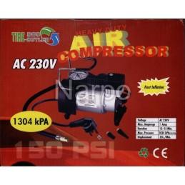 Compresor auto 220V 150PSI 35L/min 1034kPA
