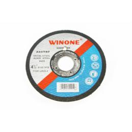 Disc abraziv Winone pentru metal D115