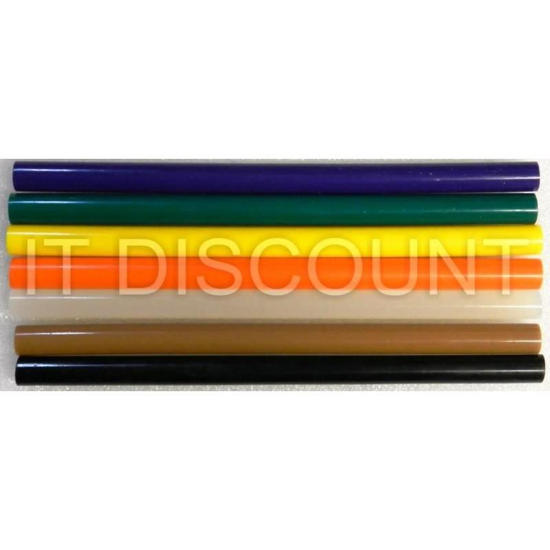 Set bare silicon 11mm 20cm 7 buc colorate