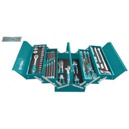 Trusa de scule in cutie metalica 59 piese (INDUSTRIAL)