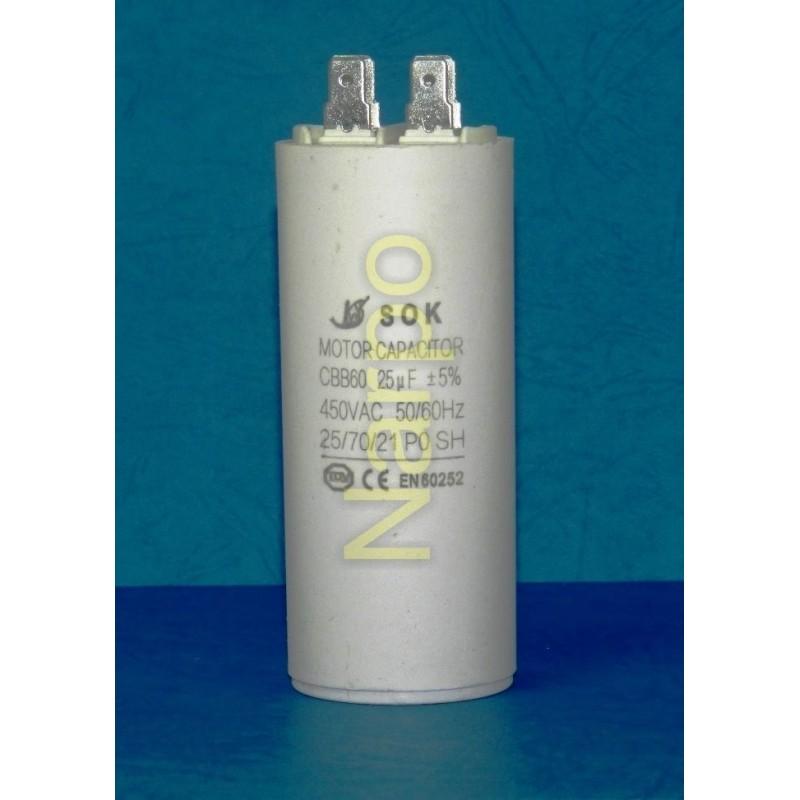 Condensator 25UF 450V pornire motor