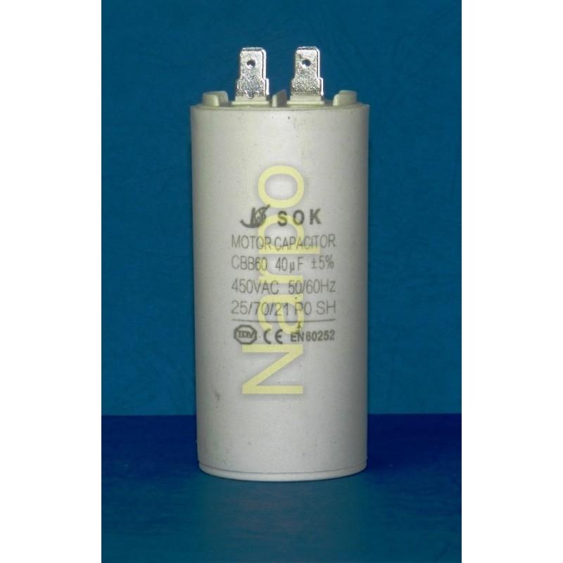 Condensator 40UF 450V pornire motor