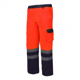 Pantalon reflectorizant portocaliu