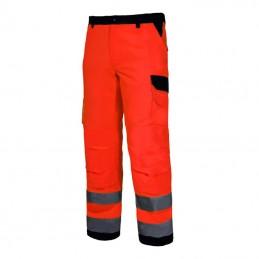 Pantalon reflectorizant premium portocaliu