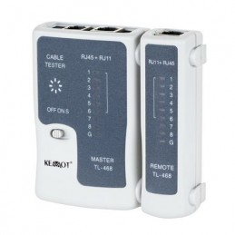 Tester cablu UTP RJ45 RJ11 retea internet