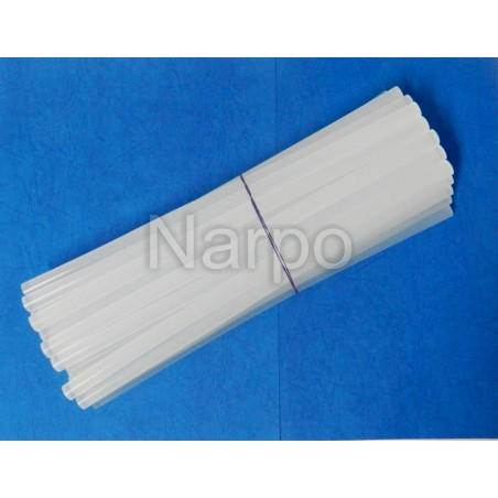 Set Bara silicon 11mm transparent cristal 1kg pentru pistol de lipit