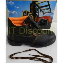 Bocanci de lucru santier insertie metalica rezistenti la ulei