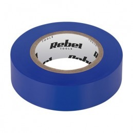 Banda izolatoare 0.13X19X10YD albastra REBEL