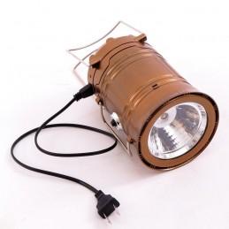 FELINAR + Lanterna solara 6+1 LED LAMPA CAMPING PESCUIT 220V
