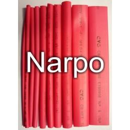 Set tub contractil 10buc varnis 1.5-10mm 100mm rosu sau negru