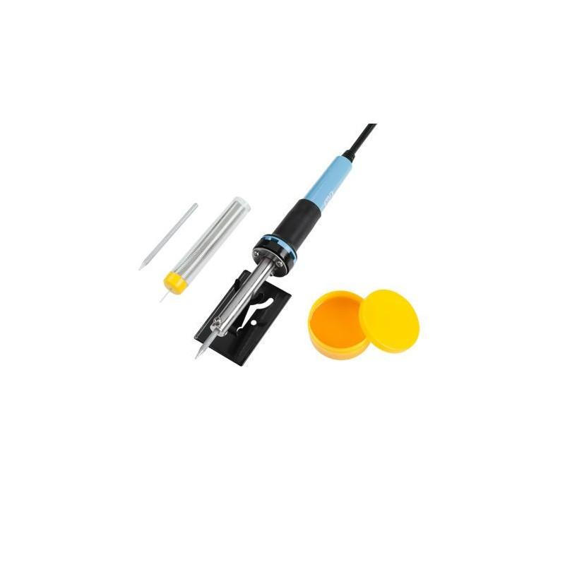 Set letcon 30W + fludor fara plub + suport + varf rezerva + sacaz