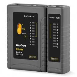 Tester Cablu RJ11 RJ12 RJ45 REBEL