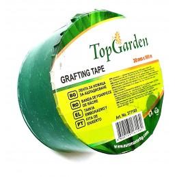 Banda pentru altoit, transparenta-verde, 3cm, 100m, tip strech, 100g