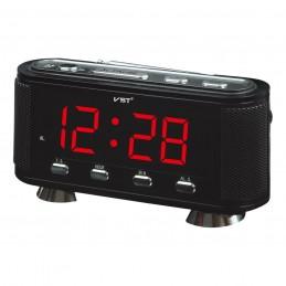 Ceas digital led alarma Radio FM AM VST-741