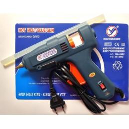 Pistol de lipit cu silicon 60-100W 11mm buton dubla temperatura