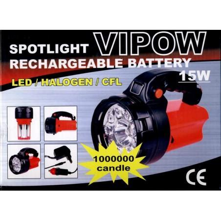 Lanterna tip Proiector bec H3 Neon 15W 3 FUNCTII