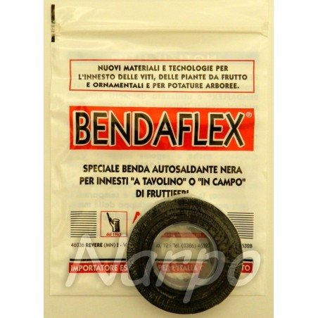 BENDAFLEX Italia - banda pentru altoit profesionala flexibila autoadeziva ecologica 19mm*5m