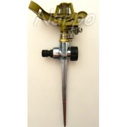 Aspersor metal 1/2 cu impuls si pivot de zinc