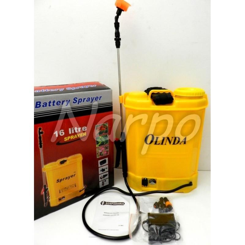 Pompa de stropit electrica Olinda 16L cu acumulator