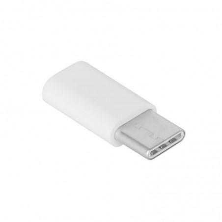 ADAPTOR MICRO USB MAMA - USB TYPE C TATA