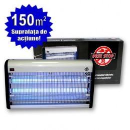 Insectocutor cu UV 2x20W pentru distrugera insectelor, InsectoKILL M40, 150mp