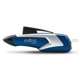 Pistol de lipit cu acumulator NEO 1 Steinel albastru cu 3 baghete silicon 7mm 170°C