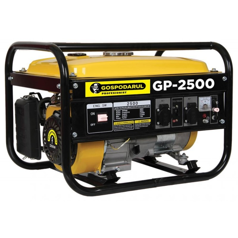 Generator pe benzina 2200W GP-2500 Gospodarul Profesionist PMP0029