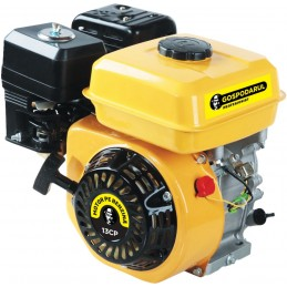 Motor pe benzina 13 CP, 4 timpi, OHV, ax 25mm cu pana, PMP0025, GP-188F, Gospodarul Profesionist