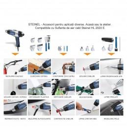 Pistol suflanta de aer cald HL 2020 E, 2200W, max. 630°C, afisaj LCD, Steinel, 008192