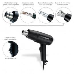 Pistol suflanta de aer cald HL 1400, putere 1400W, max.500°C, Steinel