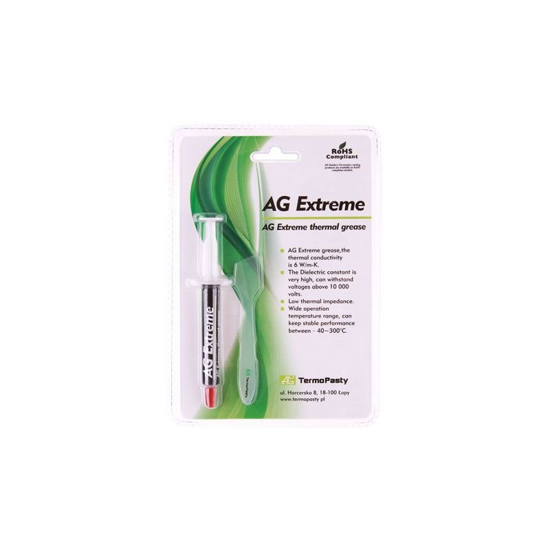 Pasta siliconica termoconductoare EXTREME 3G AG