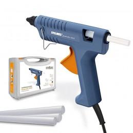 Pistol de lipit cu silicon 11mm 200W 210º-220ºC Gluematic 3002 cu valiza depozitare