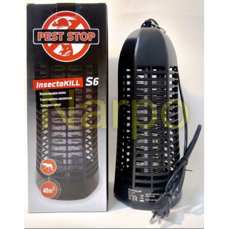 Insectocultor cu UV 6W pentru distrugerea insectelor, InsectoKILL S6, 40mp