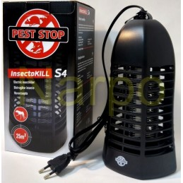 Insectocutor cu UV 4W pentru distrugerea insectelor, InsectoKILL S4, 15mp