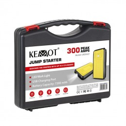 POWER BANK JUMP STARTER 7200MAH MAX 300A