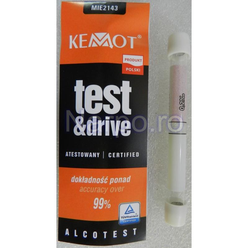 Tester ALCOOLEMIE KEMOT Alcool test