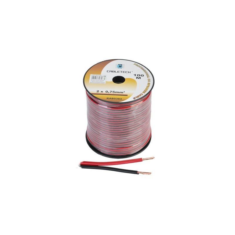 Cablu difuzor cupru rosu/negru, diverse dimensiuni