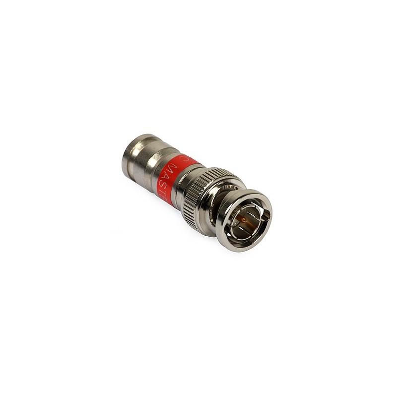 Mufa BNC compresie MASTER pentru cablu RG59 CAMSET