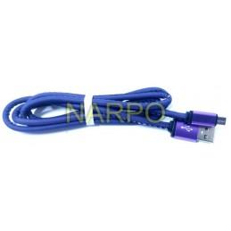 Cablu USB microUSB cameleon - 1M Violet